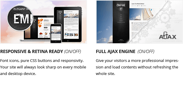 Empire II - WordPress Theme - 3